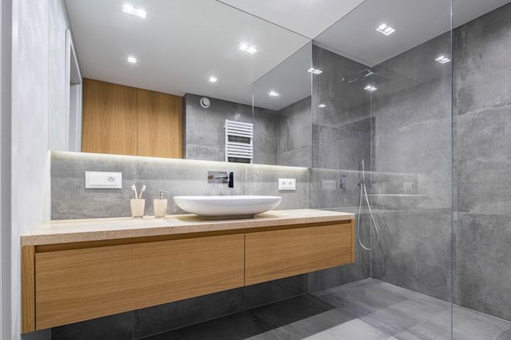 Badkamer ventilator met Ventilatiesysteem C